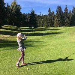 Golf mit Kindern © Hotel Seelos