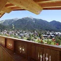 Aussicht Seefeld © Hotel Seelos