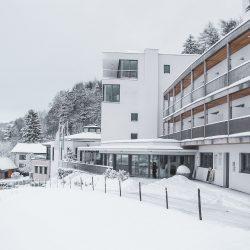 Hotel Spes im Schnee (c) Spes