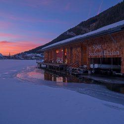 Seehotel Enzian Spa im Winter (c) Seehotel Enzian