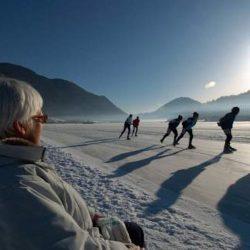 Eislaufen (c) Seehotel Enzian