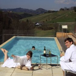 Pool © Gut Pössnitzberg