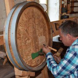 Holzhandwerk © Freilichtmuseum Germanisches Gehöft