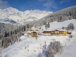 Winteransicht Hotel Bergheimat @Michael Gruber