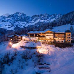 Winterblick aufs Hotel Bergheimat @ Jeroen_Schrage