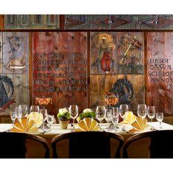 Rittersaal-Tafel im Hotel Schrofenstein © Mario Raben