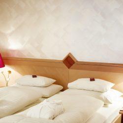 Zimmer © Hotel Schrofenstein