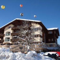 Winteransicht @ Hotel Schwarzer Adler
