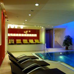Hallenbad © Hotel zum Mohren
