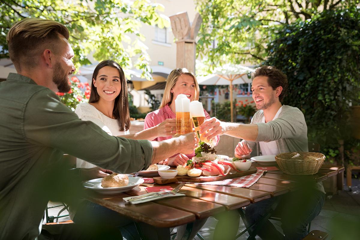 Biergarten Stiegl Brauerei @ Stiegl Brauwelt