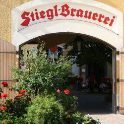 Torbogen Stiegl Brauerei @ Stiegl Brauwelt