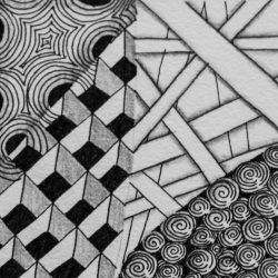 Zentangle © Mühlviertel Kreativ