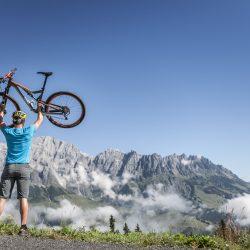 Bergheimat Aktivität Radfahren (c) Hotel Bergheimat