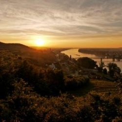 Krems Sonnenaufgang © photography Pfeffel