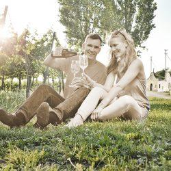Paar im Weingarten @ Robert Herbst/POV