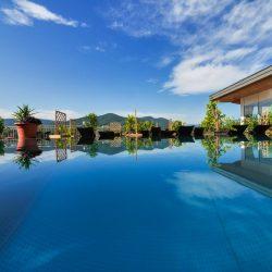 Penthouse Spa Wellness Terrasse Gartenhotel & Weingut Pfeffel © Alexander Pfeffel